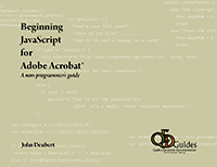 JavaScript for Acrobat book cover